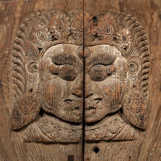 Bhairava Temple Door Panel