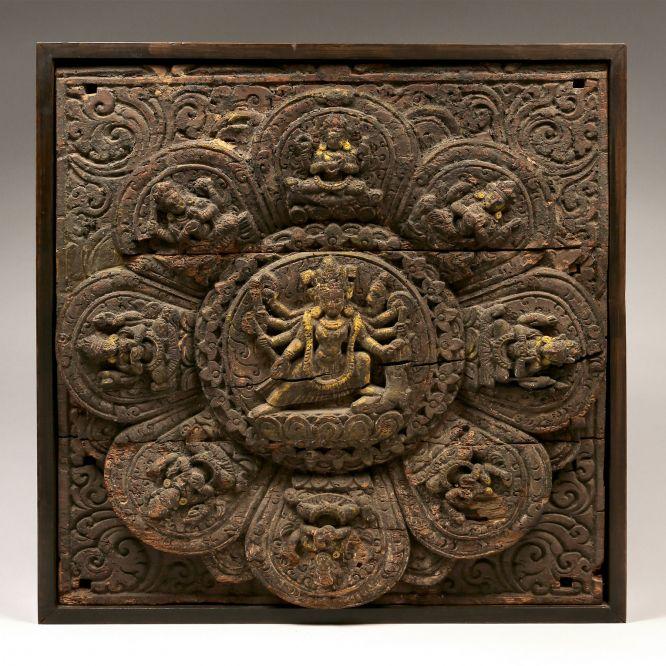 Mandala of Navdurga