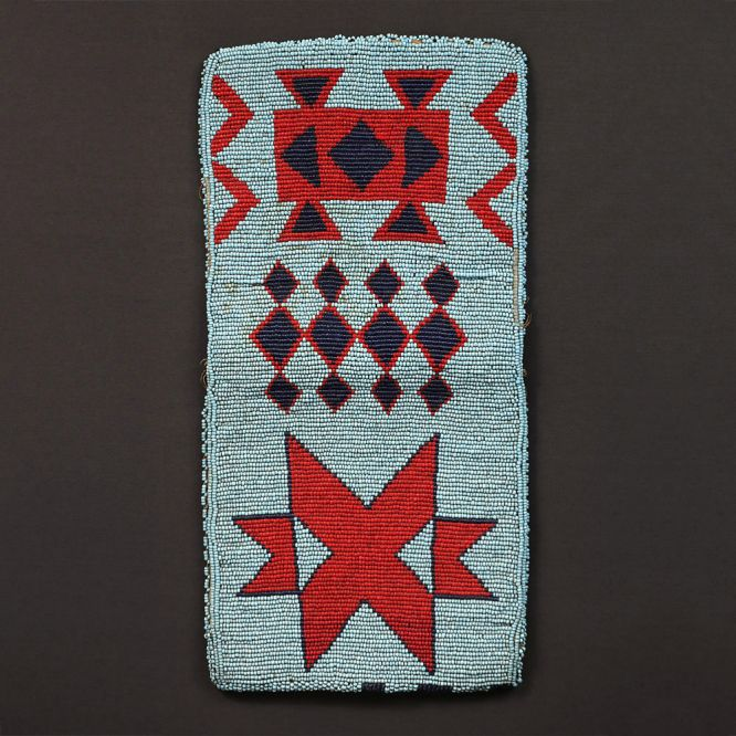 Nez Perce Beaded Pouch
