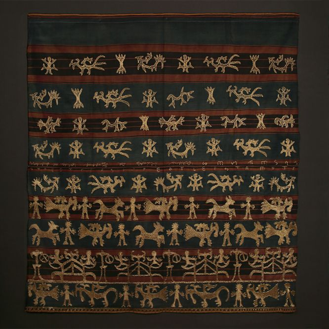 Woman's Ceremonial Skirt, Tapis