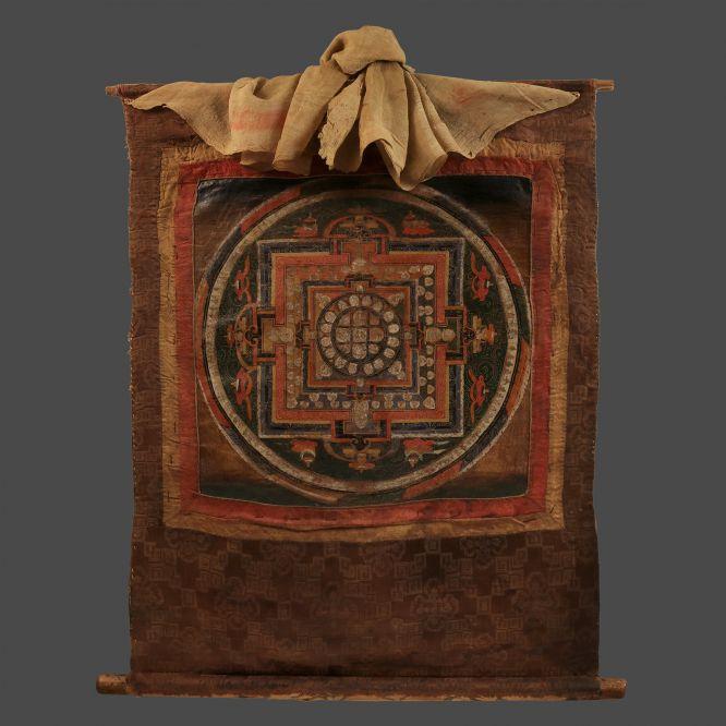 Mandala of the Five Buddha Families
