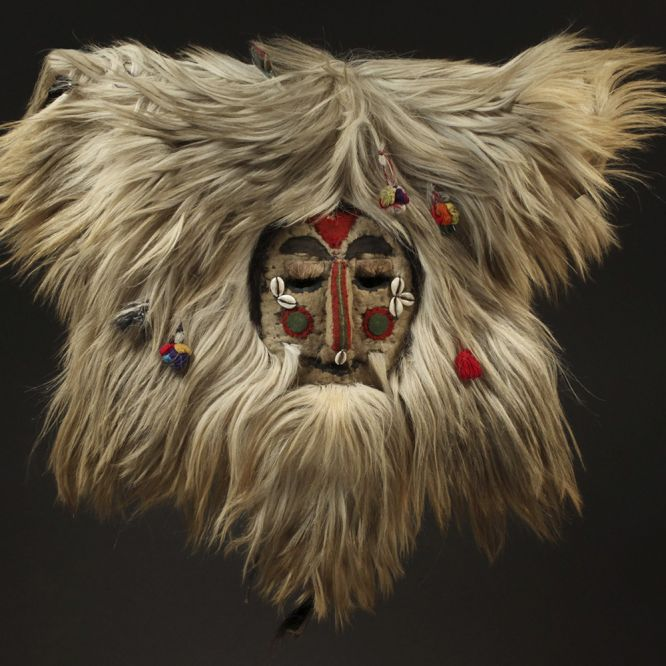 White Dance Mask