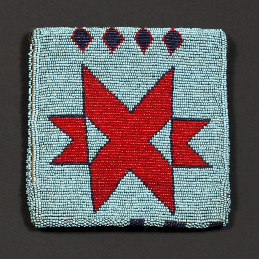 <?php echo Nez Perce Beaded Pouch?>