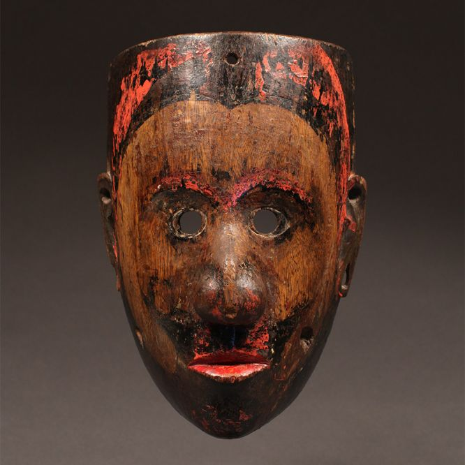 Dayak Festival Mask