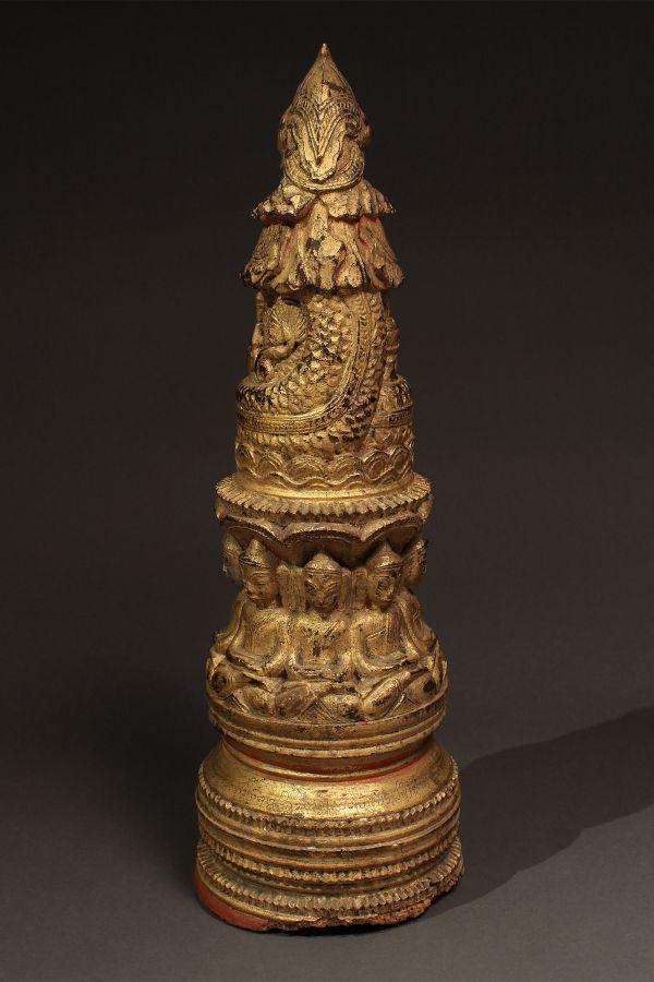 <?php echo Votive Stupa of Buddha?>