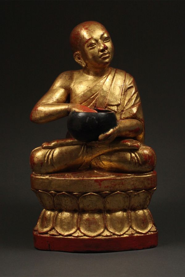 <?php echo Monk with Bowl?>