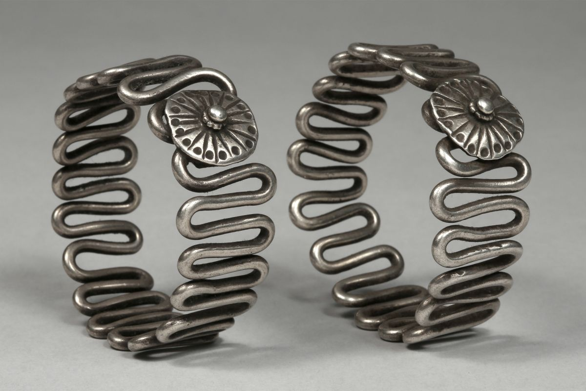 <?php echo Pair of Tribal Bracelets?>