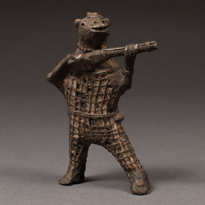Standing Figure with Gun