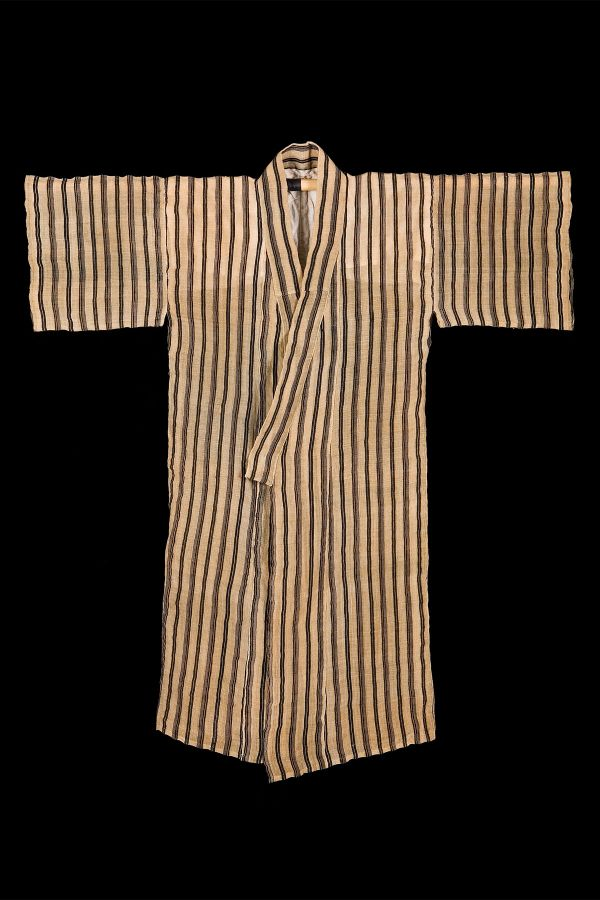 <?php echo Striped Robe, Bashofu?>