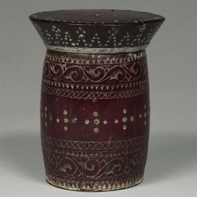 Wooden Inlaid Container