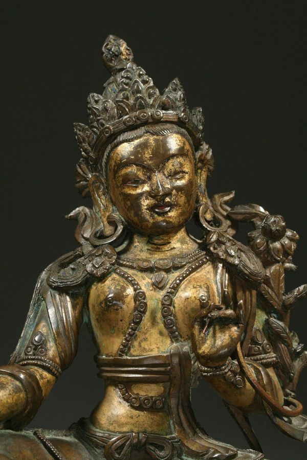 <?php echo Bronze of Green Tara?>